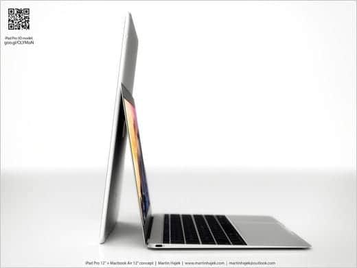 12インチiPad Proを縦に置いたら…