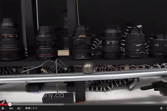 2D House カメラ機材のピタゴラスイッチ