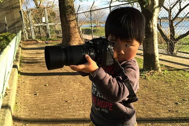 4歳の息子 動物園でデジタル一眼レフデビュー
