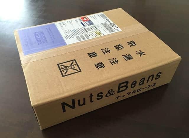 Nuts & Beansさんからアーモンド1kgが届く
