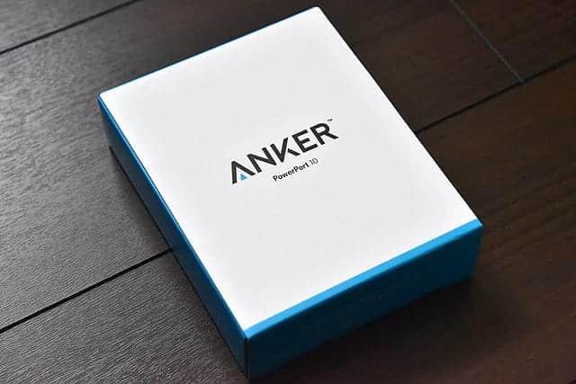 Ankerの60W10ポートUSB急速充電器 レビュー