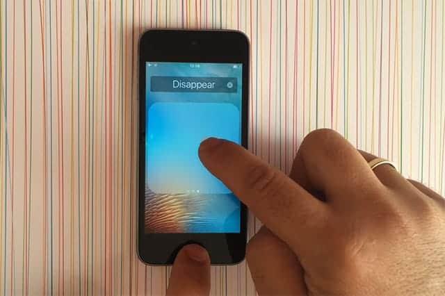 Apple標準アプリを削除する、具体的な手順