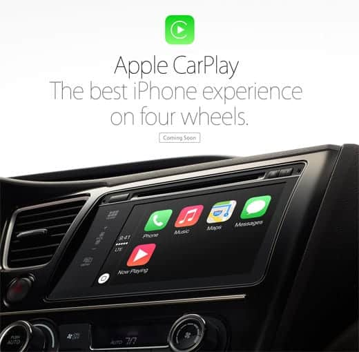 Apple CarPlay 発表
