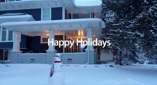 Apple Holiday テレビCM