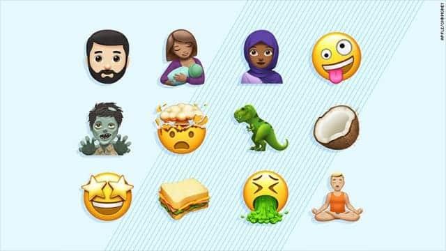 Appleが新しい絵文字を披露