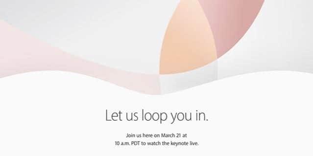 3月21日にスペシャルイベント!新iPhoneとiPad Pro!