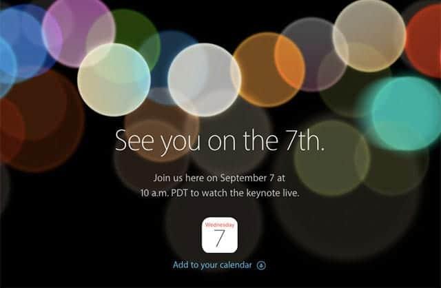 新iPhone発表イベントは日本時間9月8日午前2時から