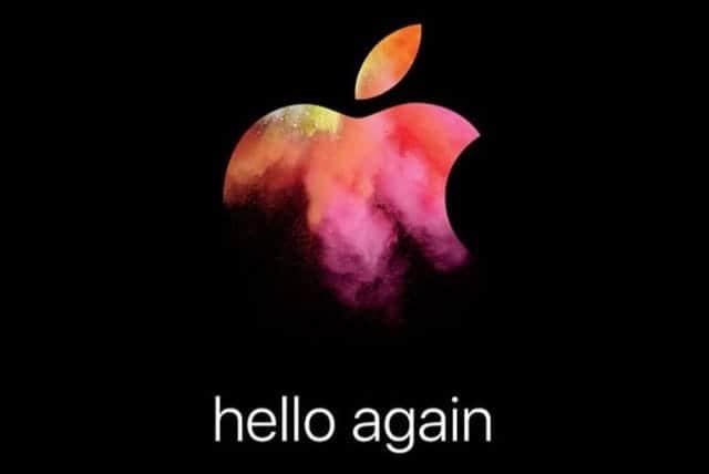 新型MacBook Pro 10月27日のイベントで発表か