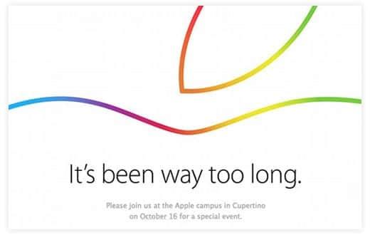アップルのイベント It's been way too long