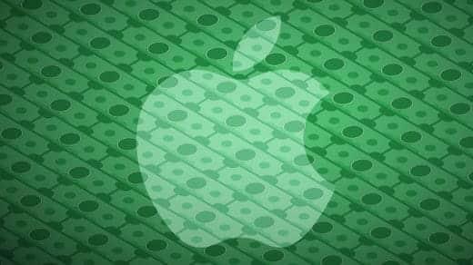 Apple株が史上最高値の106.74ドルを記録