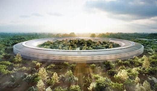 アップル新社屋 スペースシップ