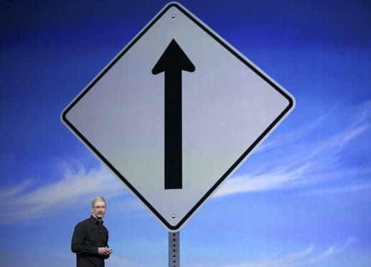 あれよあれよと過去最高に近づくアップルの株価