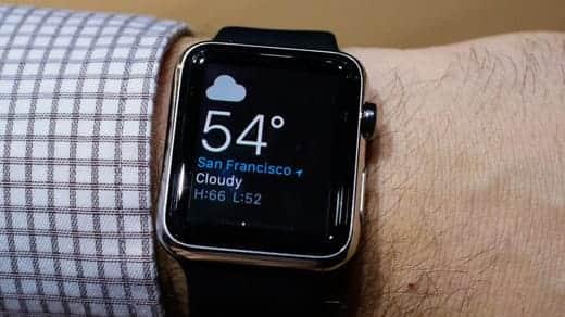 Apple Watch 装着写真