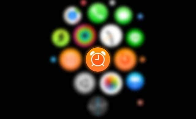 Apple Watch アラームアプリ