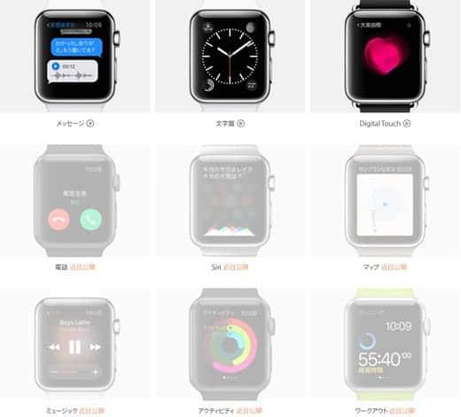 Apple Watch ガイドツアー