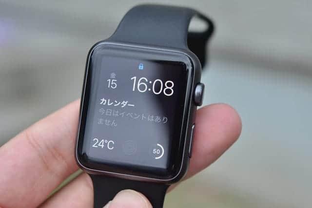 Apple Watch に傷がついた
