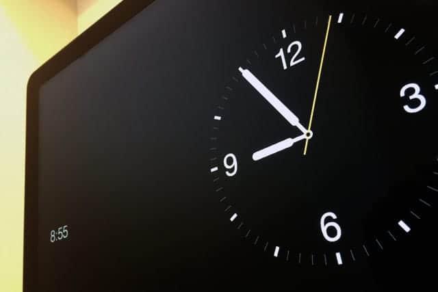 Apple Watch スクリーンセーバー