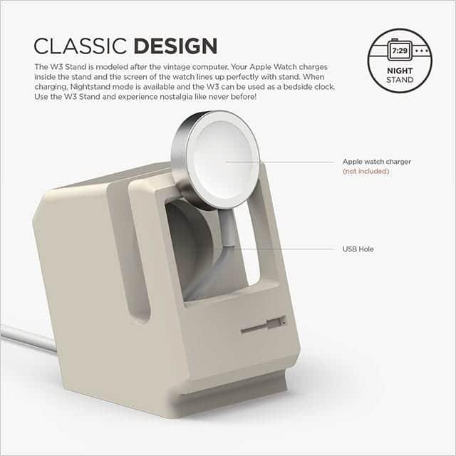 elago W3 STAND Apple Watch 専用充電スタンド