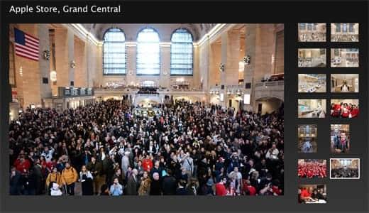 ニューヨークのグランドセントラル駅構内のアップルストアがスゴイ
