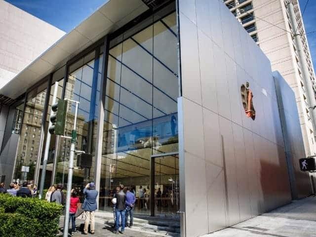「Apple Store」新店舗を写真で見る--新施設「Genius Grove」備えたユニオンスクエア店