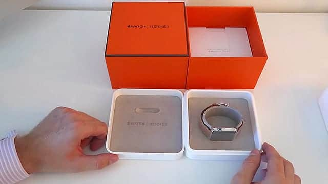 Apple Watch Hermes 箱の中身