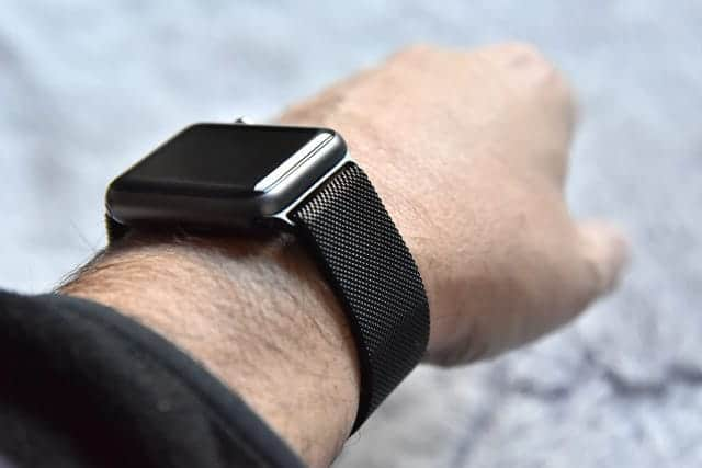 ミラネーゼループの初代Apple Watch