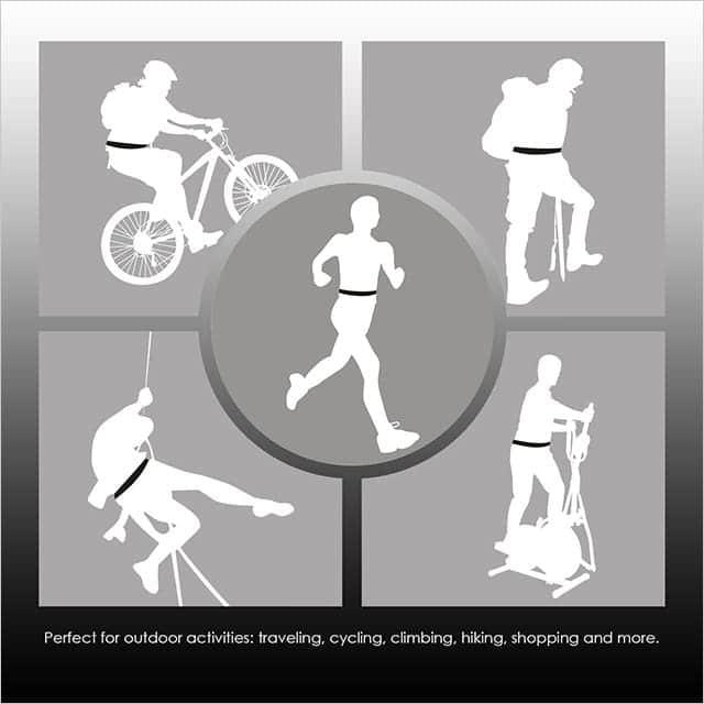 ATiC ランニング 自転車 登山 レジャー