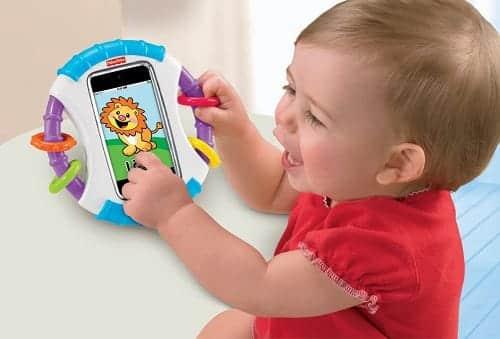 これなら安心。赤ちゃん専用iPhoneケース『赤ちゃん専用iケース』
