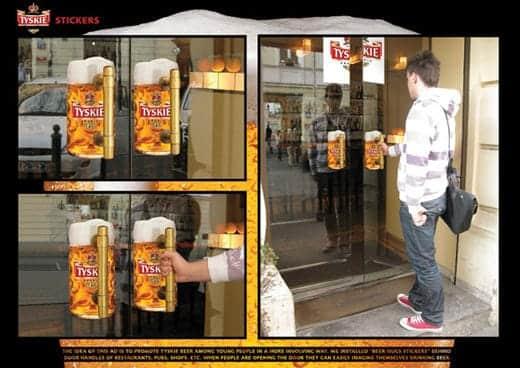 ビール広告写真