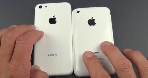 廉価版iPhone いろんなiPhoneと比較した動画