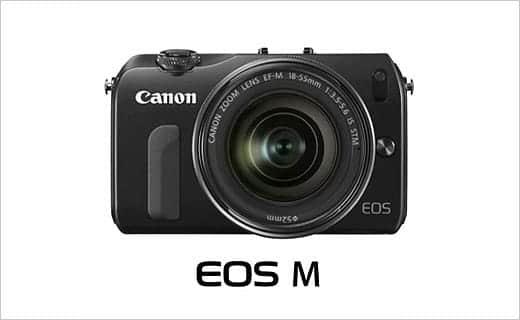 いつも持ち歩けるEOS。キャノンのミラーレスカメラ「EOS M」発売