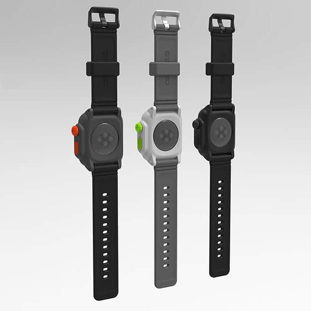 Catalyst Case for Apple Watch 裏から見たところ