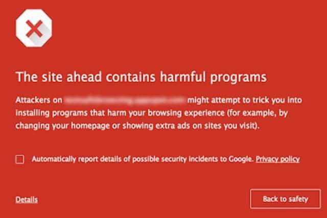 macOS版 Chrome、危険なサイトの警告を強化