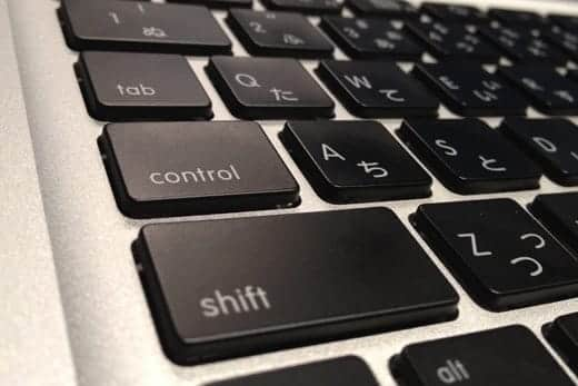 Macキーボード コントロールキー