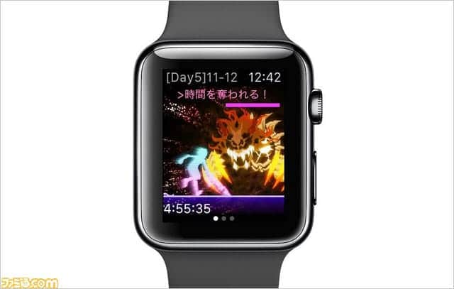 Apple Watch専用ゲーム『COSMOS RINGS』配信開始