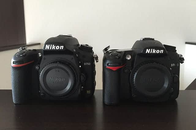 D750 と D7000の比較