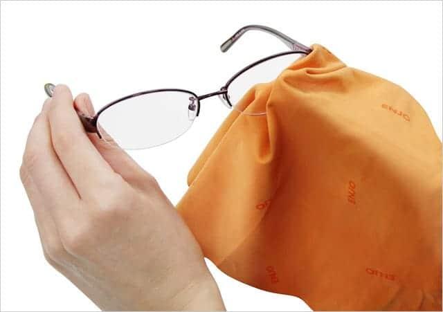 メガネにもハイテッククロス