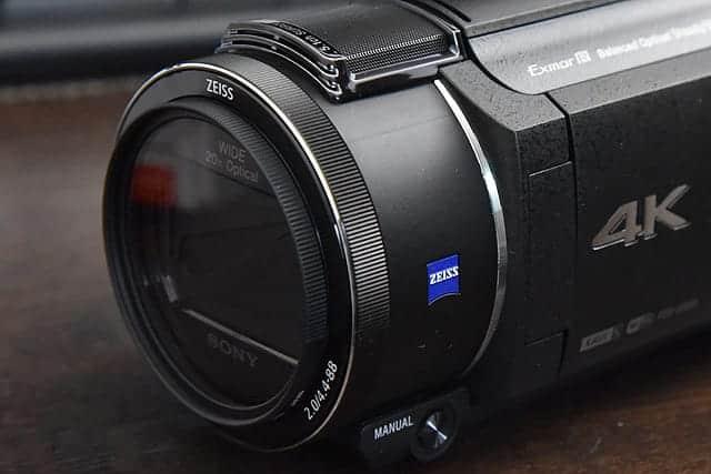 レンズフィルターをつけた写真