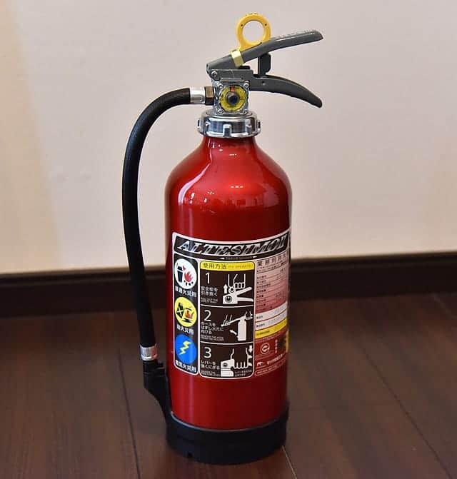 消火器アルテシモII 本体写真