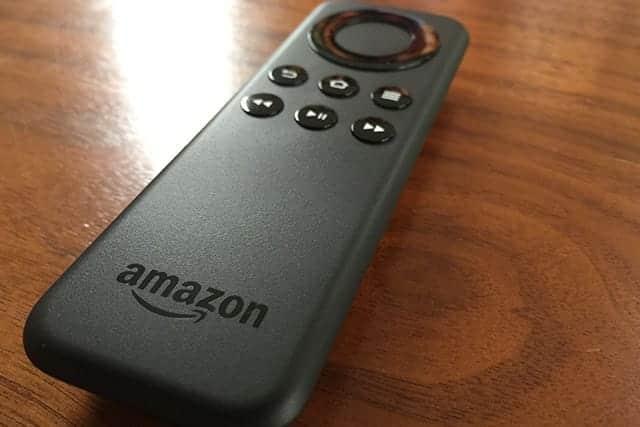アマゾン ファイヤーテレビのリモコン