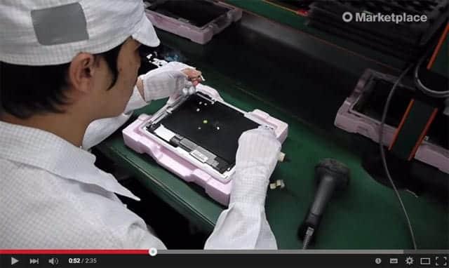 iPadはこうやって作られている。iPad製造工場内のビデオが公開
