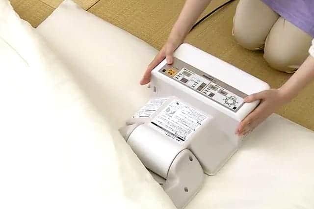 あったかい布団を簡単に!マットもホースもいらない、超簡単な布団乾燥機『スマートドライ RF-AB20』
