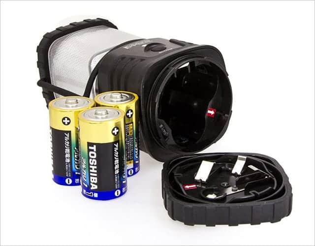 単一電池3本使用