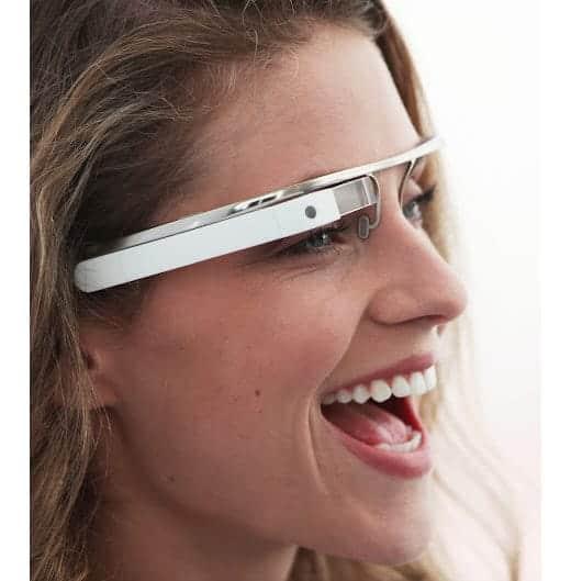 Google glass メガネの画像
