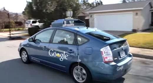 グーグルの自動運転車