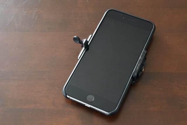 iPhone 6 Plusを装着