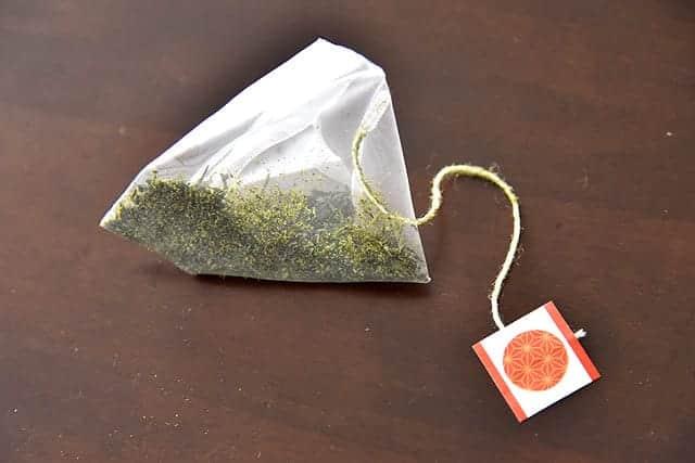 深蒸し煎茶のティーバッグ