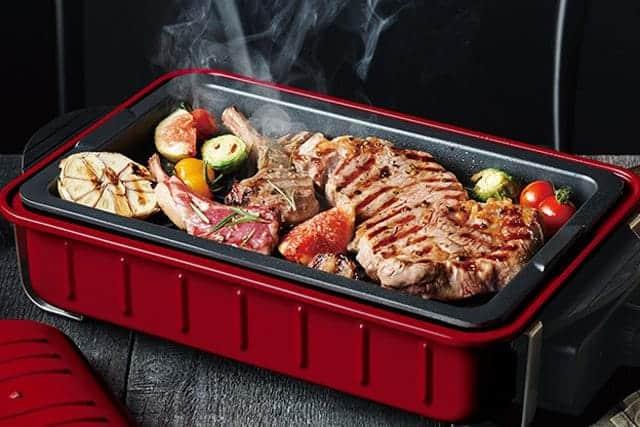 家の中でバーベキューができる『recolte HOME BBQ』分厚いステーキもたこ焼きもお手軽ジューシー