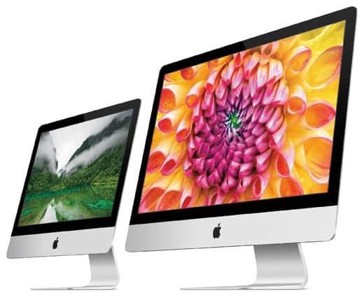 iMacがアップデート