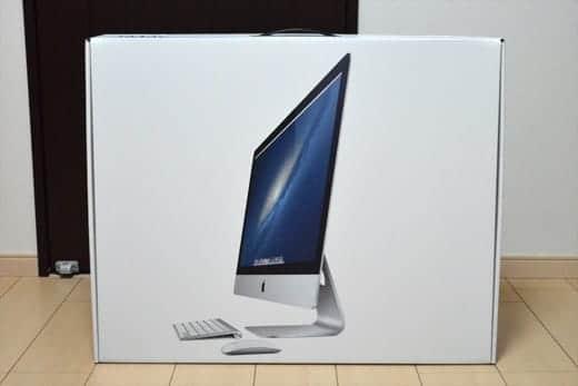 極薄iMac27インチ 箱オープン